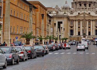 Parkování v Římě