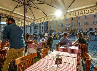 Restaurace v Římě